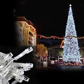 Белая светодиодная гирлянда 100 Лед ,8 режимов,7 метров.Можно использовать для улици!