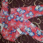 теплая пижама для девочки. собираем подарочки под ёлку