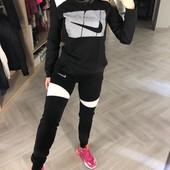 Новинка!Распродажа ! женский спортивный костюм Nike,S,L, нюанс