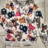 Веселенькая блуза на девочку р.140