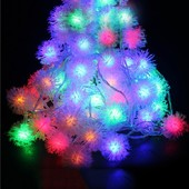 Гирлянда электрическая «Снежинки» LED