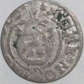 Монета. Серебро. Польша полторак 1624 год, правление Сигизмунд 3 Ваза !!!