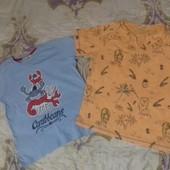 Две брендовые футболки на мальчика 6-7 лет.Без нюансов. Не секонд!