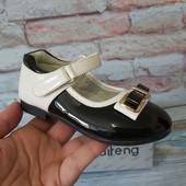 Нарядные туфли на девочек р -23-28 идеально на утренник