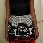 Новые платья модного кроя колокольчик размера s-m