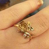 """Золотое кольцо """"Роза"""""""