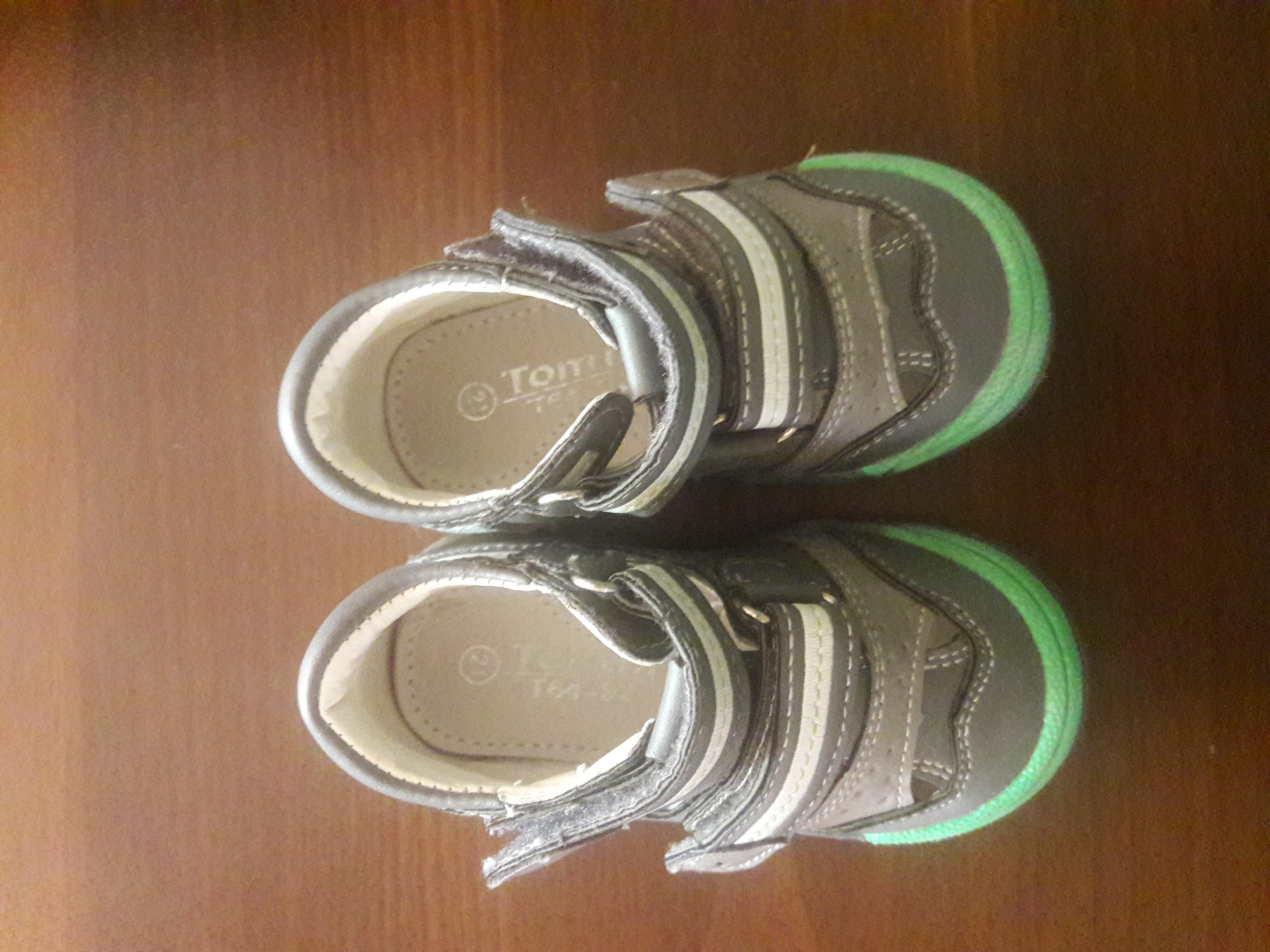 Туфельки 21 размер. одеты 2 раза. Как новые - Фото №5