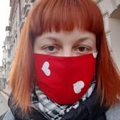 Многоразовая защитная маска для лица. Фото 5 варианты расцветок