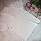 Белоснежная футболка поло Nutmeg ✿ размер 134-140 ✿ собирайте лоты))
