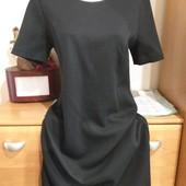 Классическое черное платье р 44