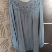Фирменная красивая вискозная блуза в состоянии новой вещи р.18-22