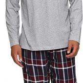 Мужские фланелевые брюки для дома и отдыха от Livergy, Xxl, евро 60-62, хлопок