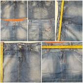 Юбки джинсові та штани еко- шкіра