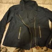 Стильная джинсовая куртка косуха р.M, L