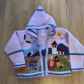 Кофта вязанная для маленькой девочки (2-3 года)