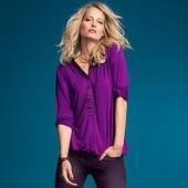 Нежная блузка, фиолетовый аметист, TCM tchibo (xl) - пог 66 см.