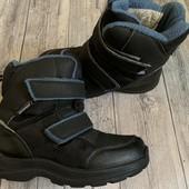 Термо ботиночки Vrs Waterproof 32 размер стелька 20,5 см