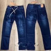 Демисезонные джинсы для мальчиков, Таурус, Венгрия, р 116-146