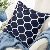 *Лот 2 шт*Шикарный чехол на декоративную подушку от Tcm Tchibo, Германия! раз.50*50 см