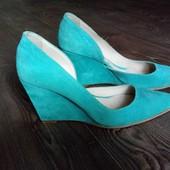 Туфлі із натуральної замші від San Marina