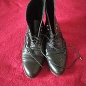 Кожаные ботиночки 40 р