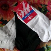 Низкие универсальные носки Житомир Universal (23-25). 1 лот - 4 пары (выбор)