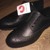Мужские цельнолитые непромокаемые туфли на слякоть из Эва пена 40-42р. Отправка в 2 дня