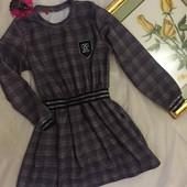 Завжди стильні та гарні плаття в модну клітинку. Якість відмінна) Останні 2 Ефект костюма.