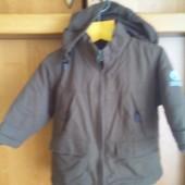 Куртка, деми, р. 2 года 92 см , Cyrillus. состояние отличное