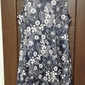 Фирменное новое трикотажное платье р. 16-18