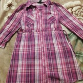 Котонове  платя-рубашка N&M на 13до15 років дивіться замири