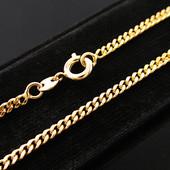 Последняя!!!Красивая цепочка алмазная грань 60 см *2 мм позолота 585 пробы УП -15 грн