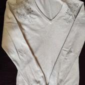теплий светр жіночий розмір S-M