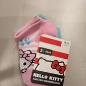 Hello Kitty набор 3 шт носочки малышке 19-22 см 12-24 мес