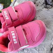 Яркие кроссовки 15см