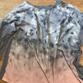 Джемпер серо-пудрового цвета 22 размер