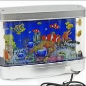 Красочный ночник-аквариум