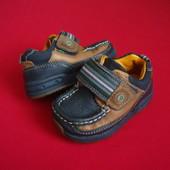 Ботинки Clarks натур кожа размер 21-22