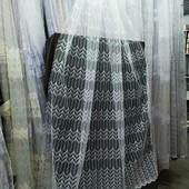 Красивая турецкая фатиновая тюль с вышивкой и люрекс нитью.Метраж добираем по ставке.
