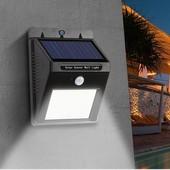 Настенный уличный светильник с датчиком движения Solar motion sensor Light