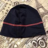 Яркая фирменная утеплённая спортивная шапка TCM Tchibo(Германия)