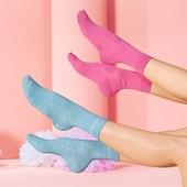 Фирменные розовые хлопковые носочки Tchibo Германия размер 39-42