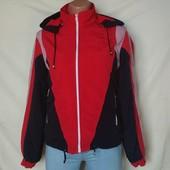 Обновление товара! Собираем! Фирменная спортивная куртках на флисовой подкладке,s/m