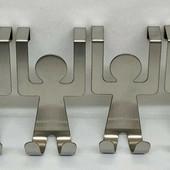 4x Livarno крючки на дверку шкафчика кухни или ванной домой