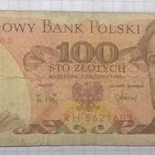Польша 100 злотых 1988