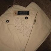 27р на бедра 90-92см новые джинсы, брюки лен, тончайшие