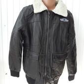 Куртки кожзам на мальчика на меху, Glo-story