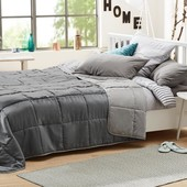 Шикарное, большое двухсторонние стеганное одеяло-покрывало от Tcm Tchibo, Германия! 230*250 см
