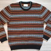 Фирменный мужской свитер в отличном состоянии р.50-52