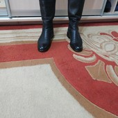 Осенние кожаные сапоги 39 размера